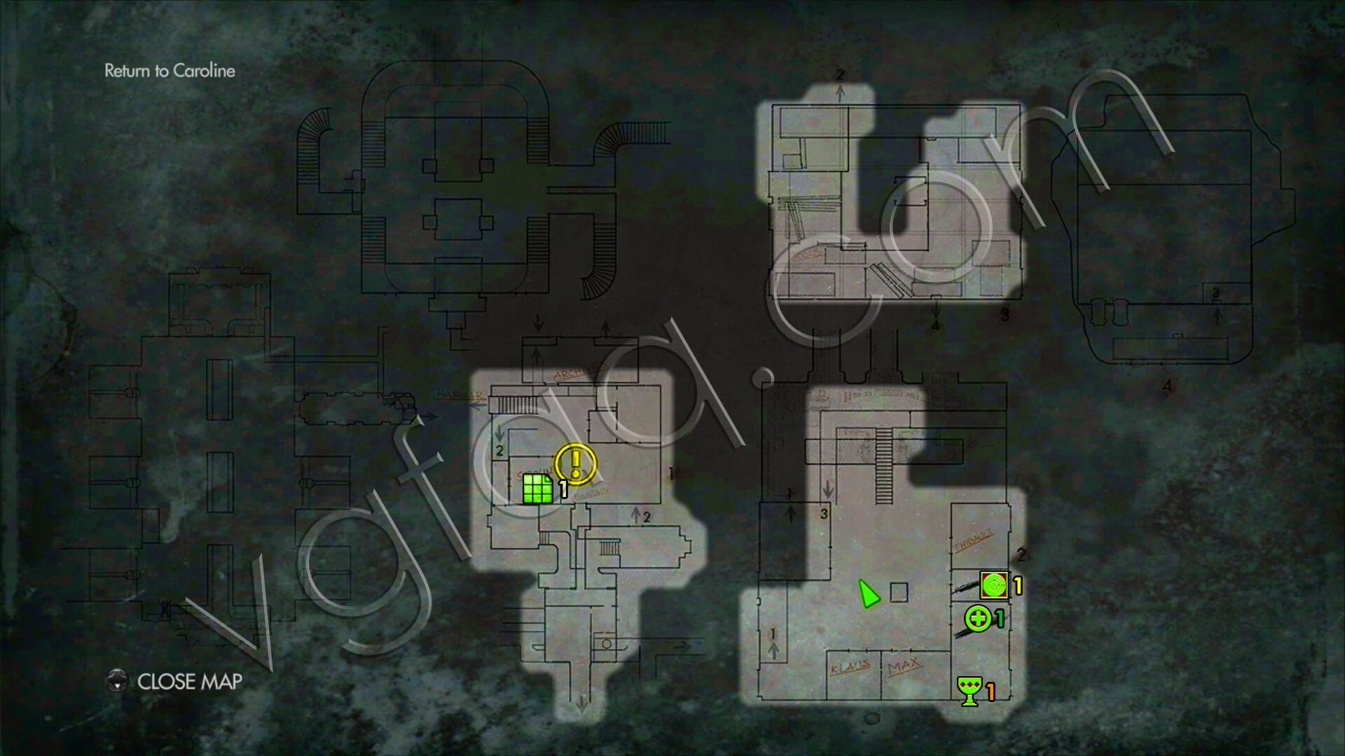 Wolfenstein The New Order Chapter  Secret Room