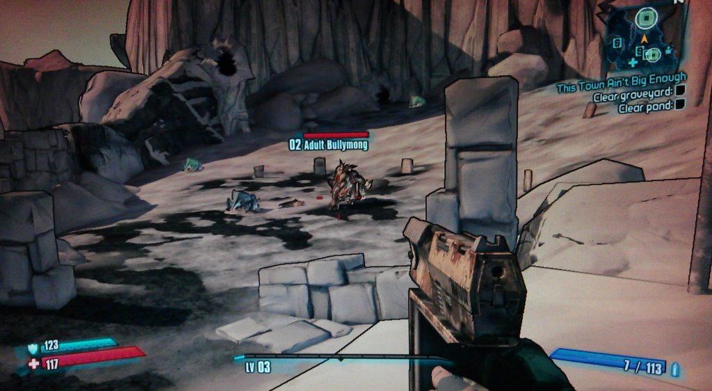 Borderlands 2 This Town Ain't Big Enough Walkthrough