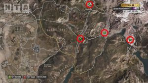 Forza Horizon Barn Finds Locations North-Eastern Area Map