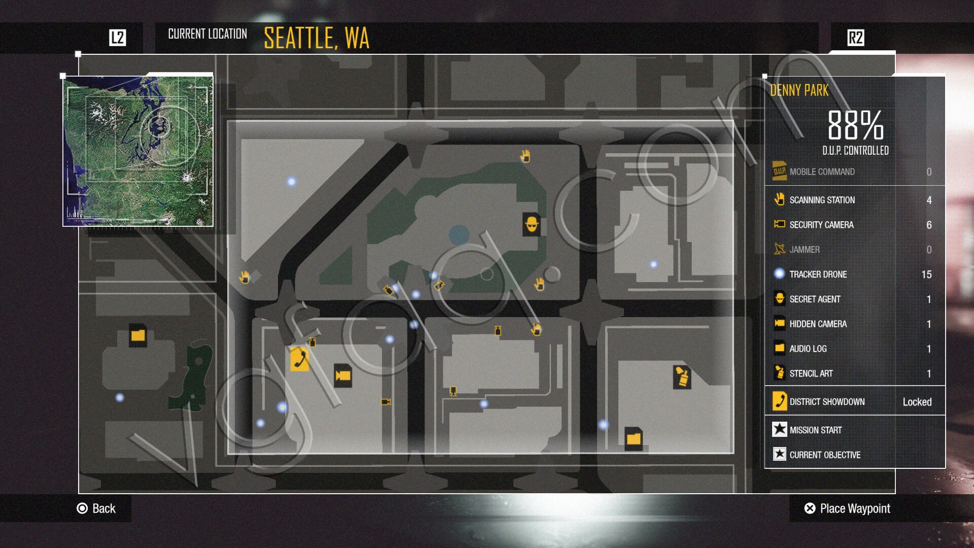 inFamous: Second Son Scanning Stations Locations - Video ... on infamous second son map, infamous blast shards, infamous dead drops,