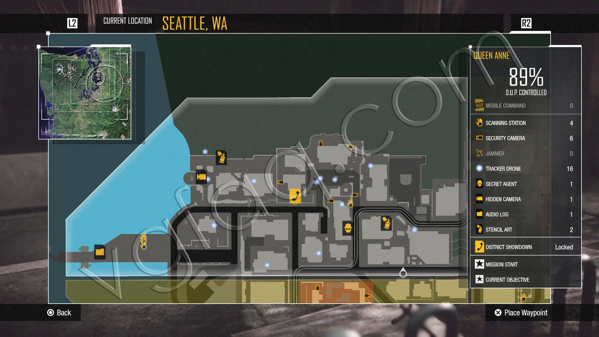 inFamous: Second Son Tracker Drones Locations - Video Games, Wikis on infamous last level, infamous ps3, infamous 2 bird locations, dead drop locations map, blast shards ps3 map, infamous 1 shard locations, lost hatch map, infamous dead drops, dead town jak 2 map, infamous 2 pigeon locations, harvard map,