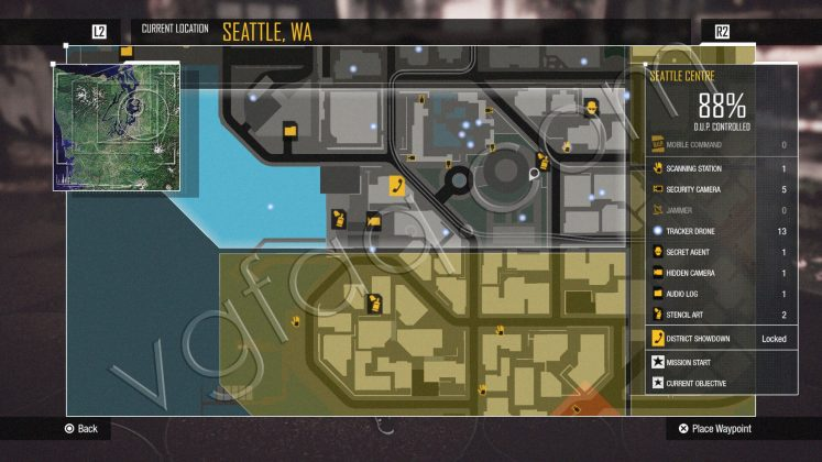 inFamous: Second Son Seattle Centre District