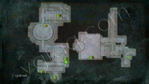 Wolfenstein: The New Order Return to Deathshead's Compound Map #1
