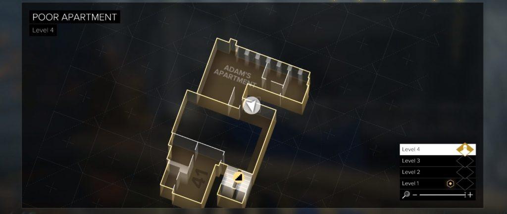 Deus Ex Mankind eBook 5 Starting Point Location
