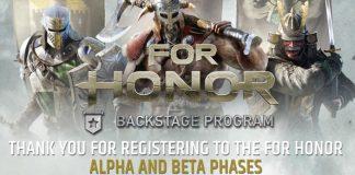 For Honor Closed Alpha Starts September 15
