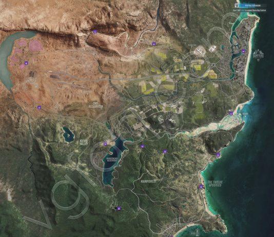 Forza Horizon 3 Beauty Spots Locations Guide