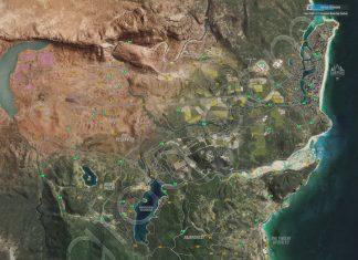 Forza Horizon 3 Reward Boards Locations Map