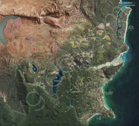 Forza Horizon 3 Reward Boards Locations Map