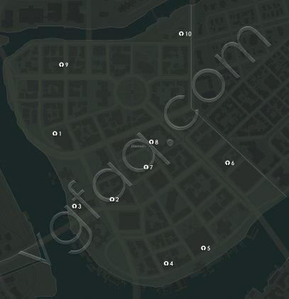 Mafia 3 Downtown Junction Boxes Locations Map