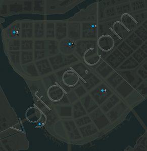 Mafia 3 Downtown Playboy Magazines Locations Map