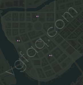 Mafia 3 Downtown Vargas Paintings Locations Map