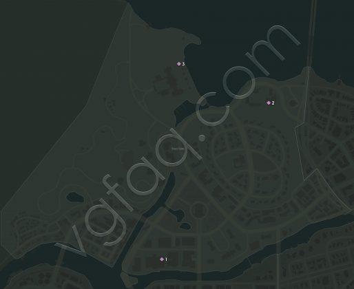 Mafia 3 Frisco Fields Vargas Paintings Locations Map