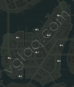 Mafia 3 River Row Junction Boxes Locations Map