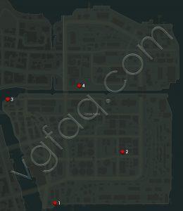 Mafia 3 Tickfaw Harbor Communist Propaganda Locations Map