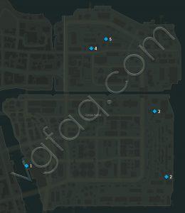 Mafia 3 Tickfaw Harbor Playboy Magazines Locations Map