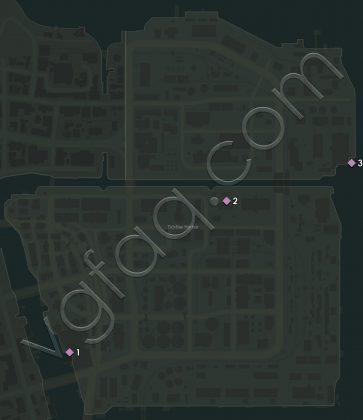 Mafia 3 Tickfaw Harbor Vargas Paintings Locations Map