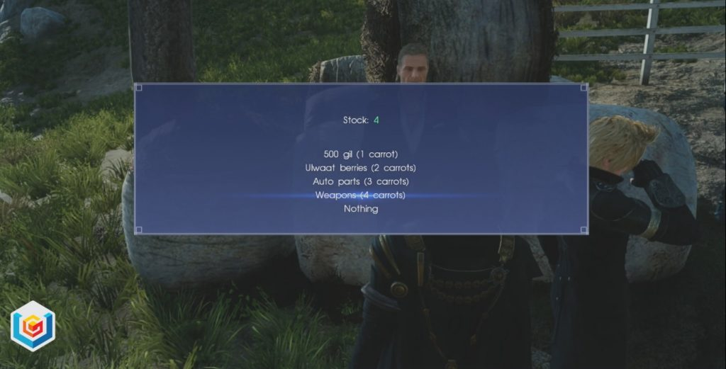 Final Fantasy XV A Better Absorb Shield Side Quest Walkthrough