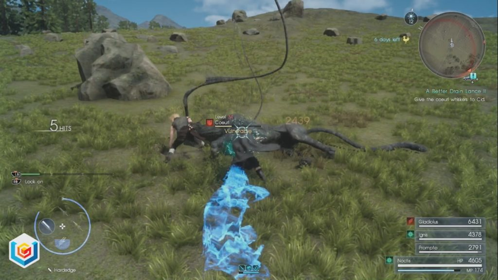 Final Fantasy XV A Better Drain Lance II Side Quest Walkthrough
