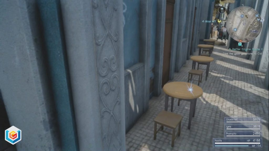 Final Fantasy XV A Better Engine Blade II Side Quest Walkthrough