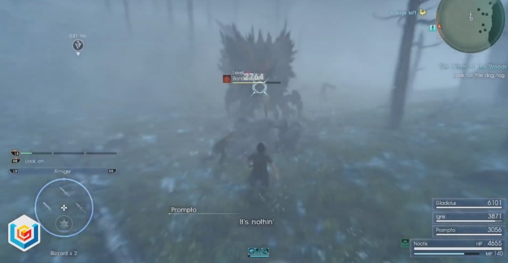 Final Fantasy XV A Better Force Stealer Side Quest Walkthrough