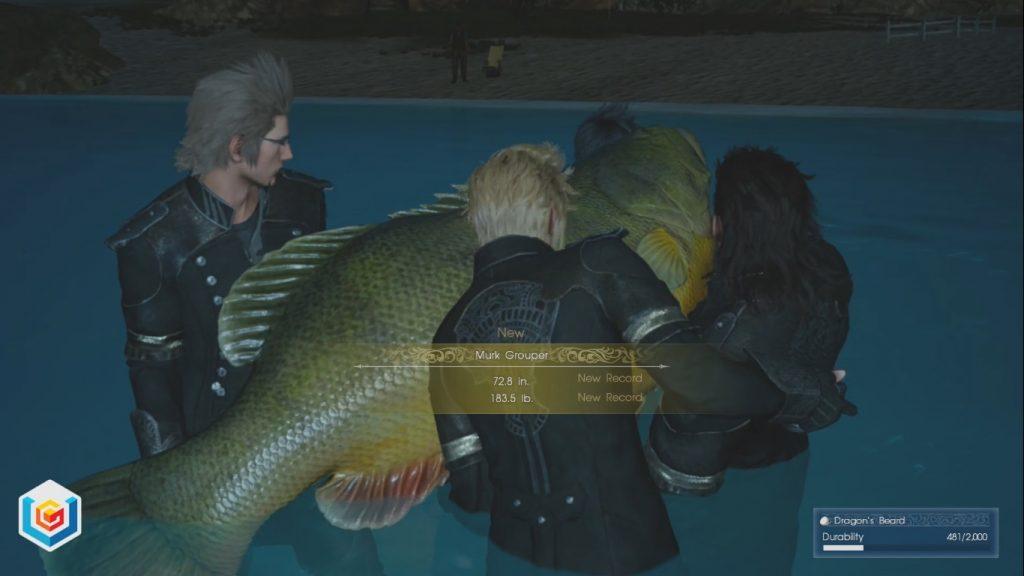 Final Fantasy XV Angler's Nightmare Side Quest Walkthrough