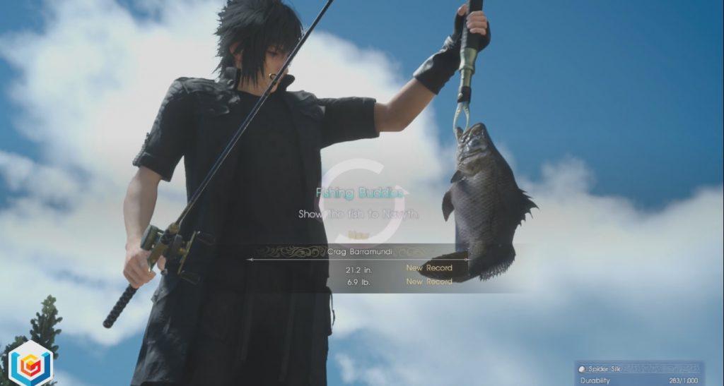 Final Fantasy XV Fishing Buddies Side Quest Walkthrough