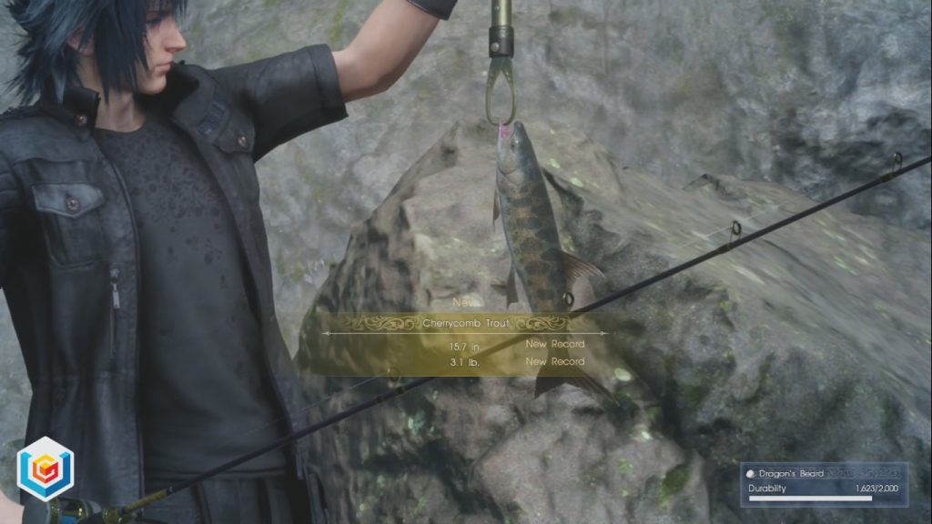 Final Fantasy XV Fishing, Naturally Side Quest Walkthrough