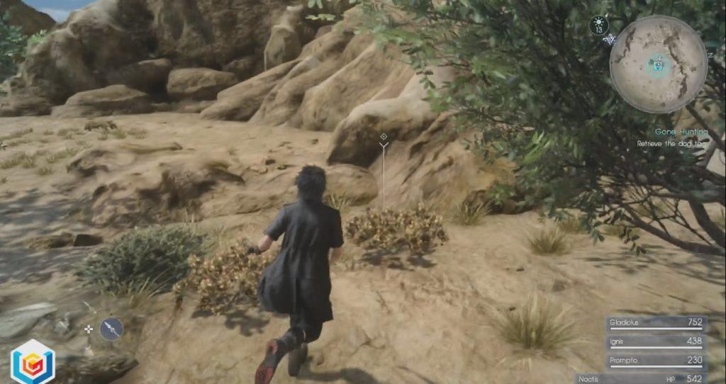 Final Fantasy XV Gone Hunting Side Quest Walkthrough