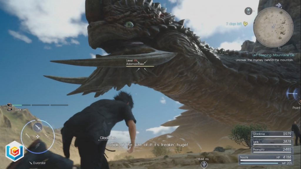 Final Fantasy XV Let Sleeping Mountains Lie Side Quest Walkthrough