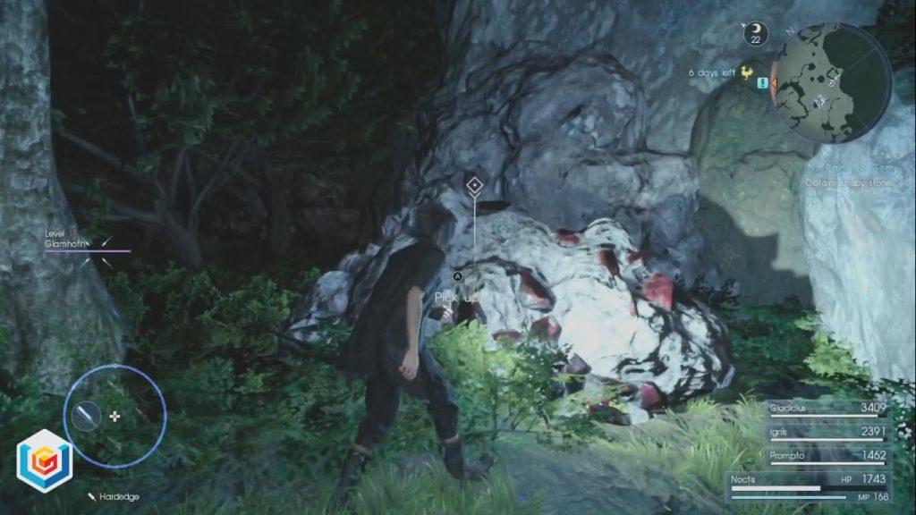 Final Fantasy XV No Pain, No Gem Side Quest Walkthrough