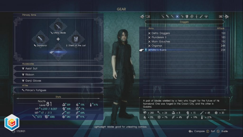 Final Fantasy XV Nyx Ulric's Kukris Daggers Location Guide
