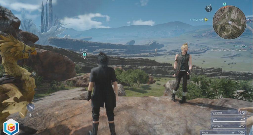 Final Fantasy XV Pilgrimage Side Quest Walkthrough