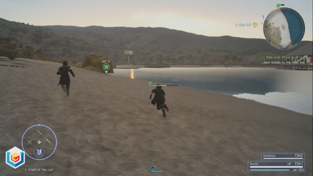 Final Fantasy XV Rise and Shine and Run Side Quest Walkthrough