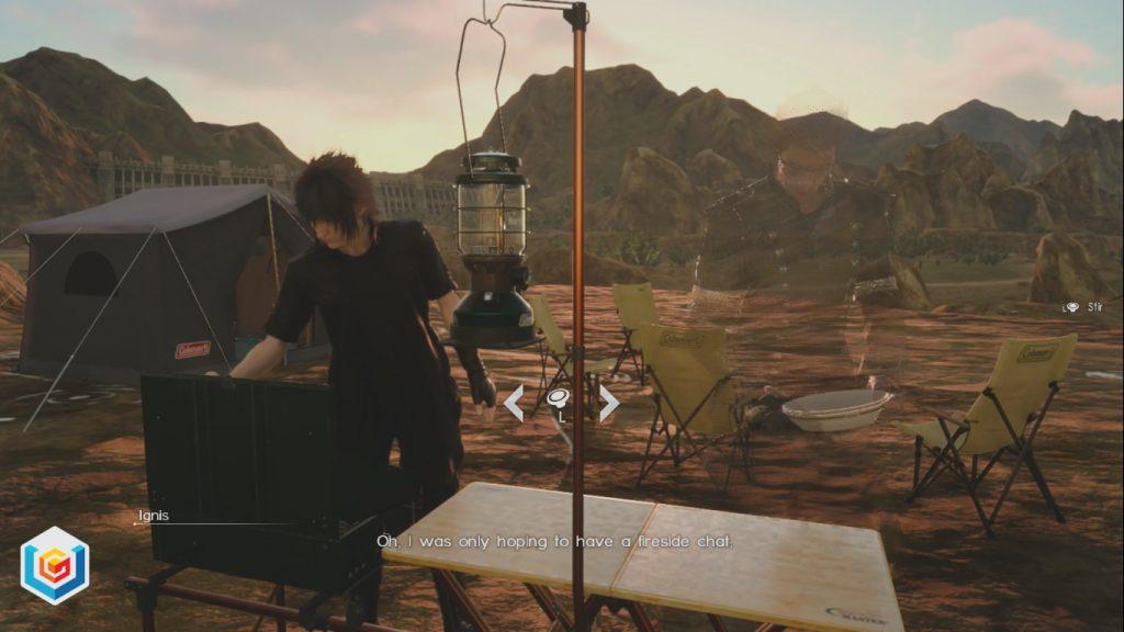 Final Fantasy XV Stirred Not Shaken Side Quest Walkthrough