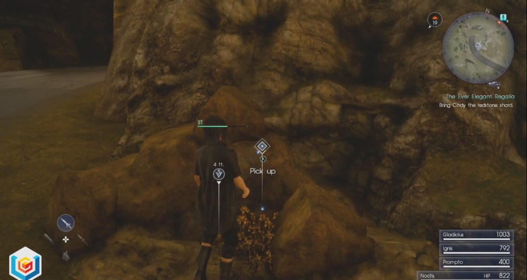 Final Fantasy XV The Ever Elegant Regalia Quest Walkthrough