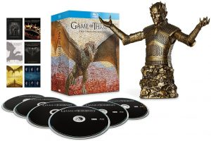 Game of Thrones Region Free Season 1 - 6 Bronze Bust Edition Now Available