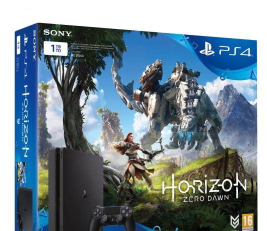 Horizon Zero Dawn 1TB PlayStation 4 Slim Bundle In Stores March 2017