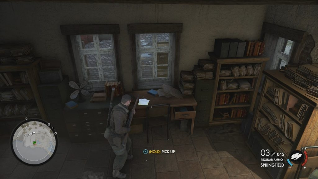 Sniper Elite 4 Miscellaneous Documents Collectibles