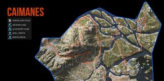 Ghost Recon Wildlands Caimanes Collectables Map
