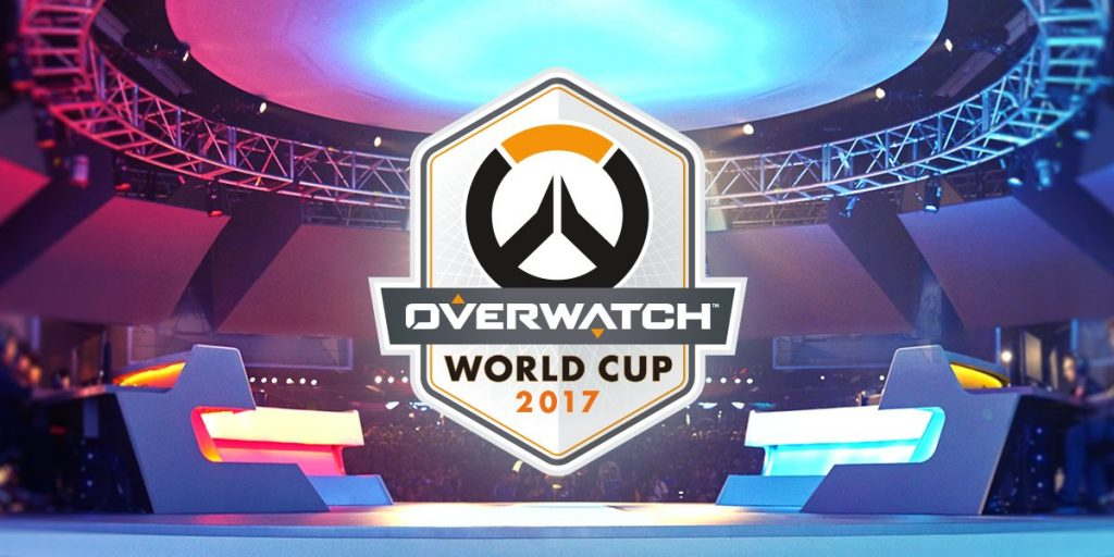 The Overwatch World Cup title image.
