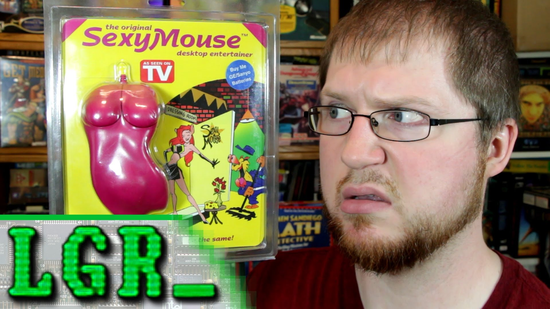 Lgr Oddware Sexy Mouse As Seen On Tv Video Games Wikis Cheats Walkthroughs Reviews News Videos