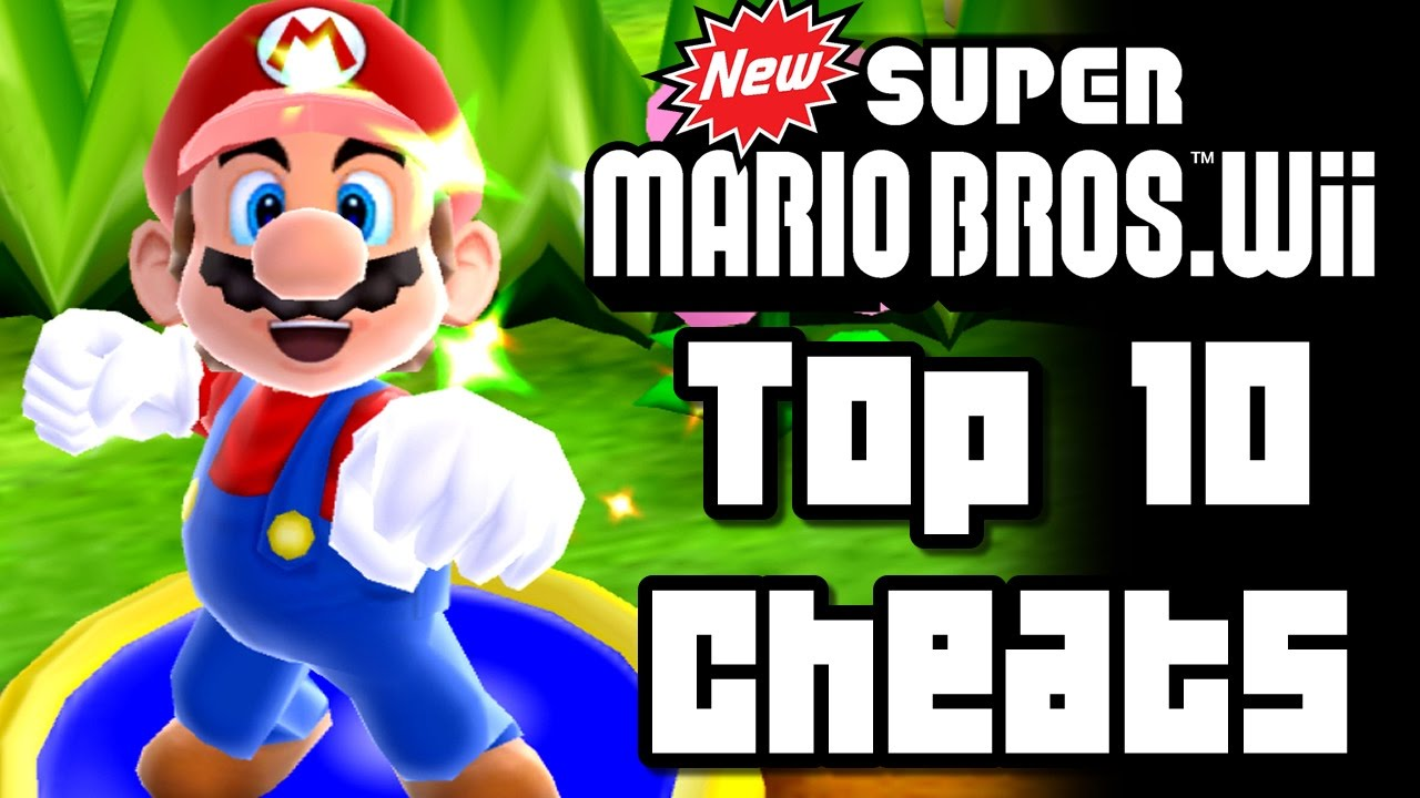 New Super Mario Bros Wii Top 10 Cheats Wii Video Games Wikis