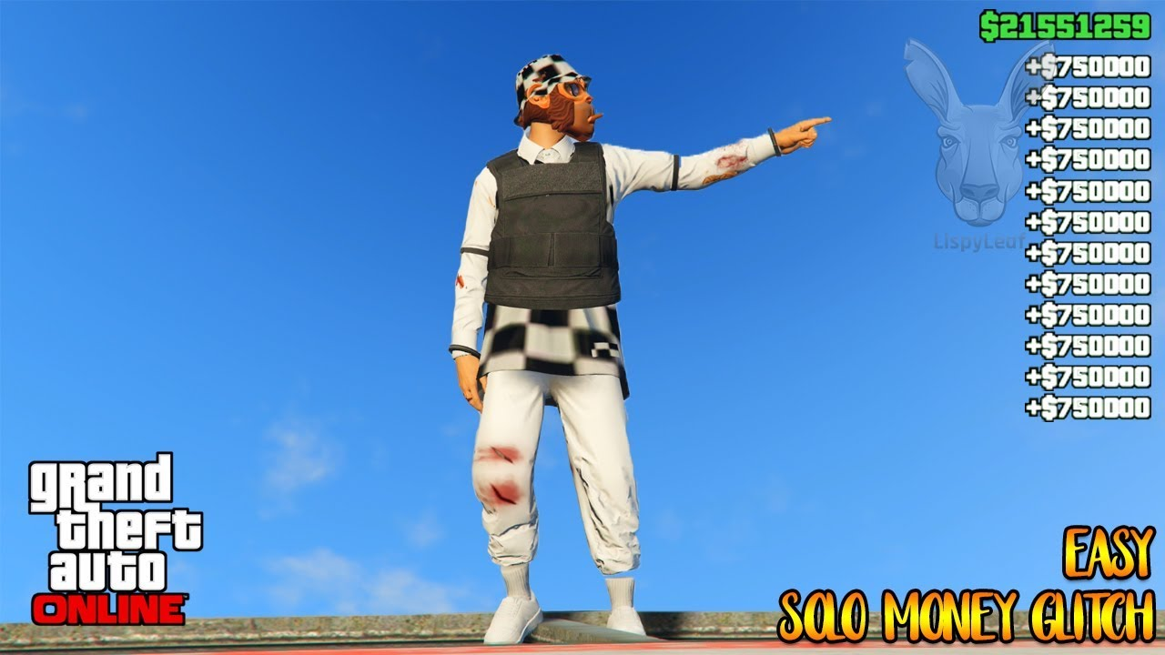 Solo EASY Unlimited GTA 5 Money Glitch 100% Working Legit