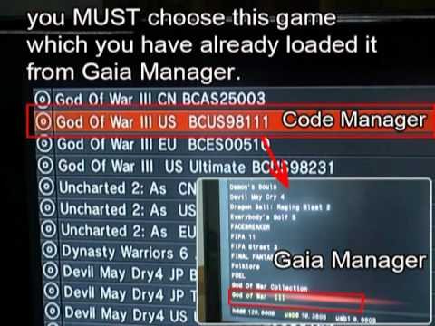 PS3USERCHEAT & Code Manager - PS3 치트코드 PS3 Cheat Code