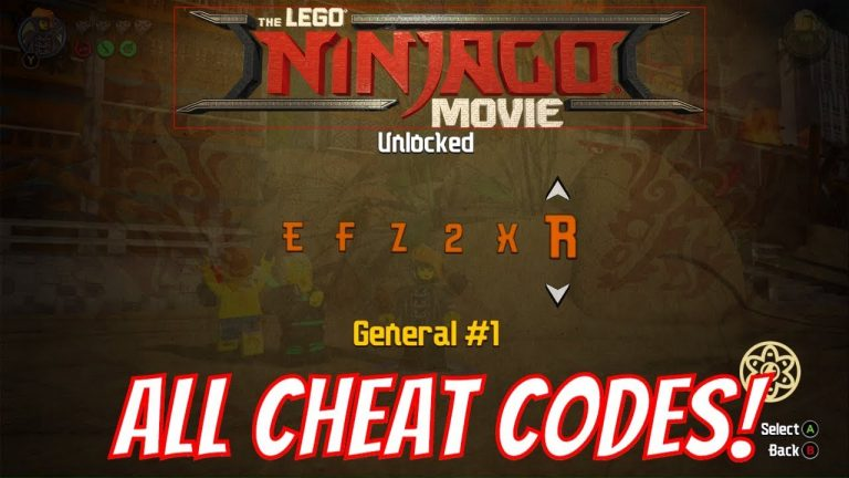 the lego ninjago movie video game all cheat codes  how to