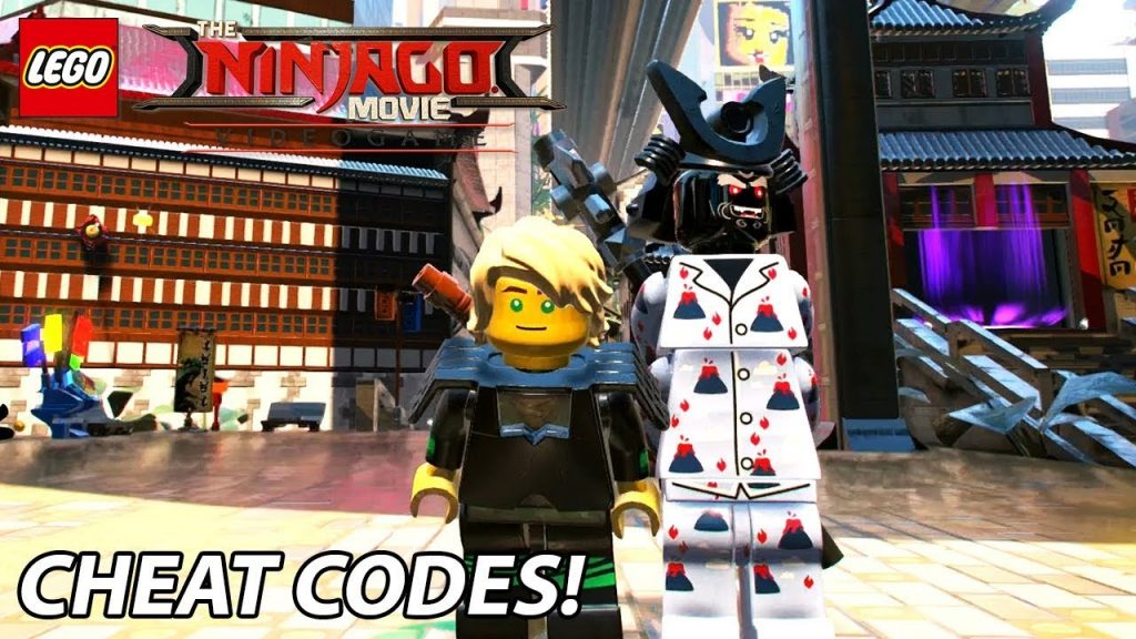 lego ninjago movie video game  character unlock codes