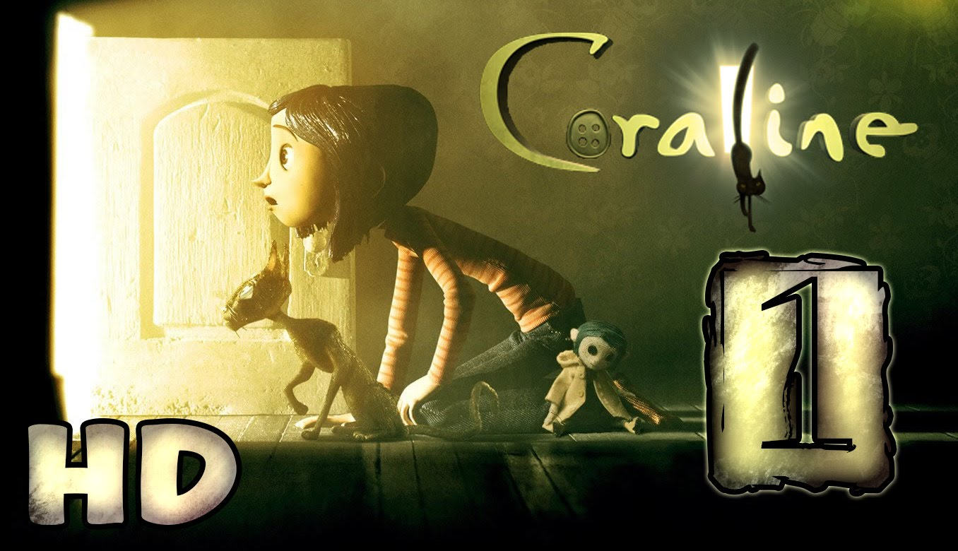 Coraline Walkthrough Part 1 (PS2) ~ Movie Game * HD